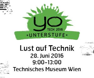 YO!TECH Unterstufe April 2016