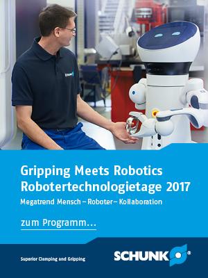 Schunk 2017 Robotertechnologietage