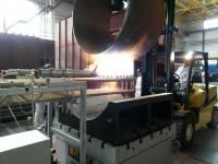 Zwölf Brenner bringen Rohre in Form