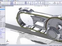 Vereinfachte die 3D-Konstruktion